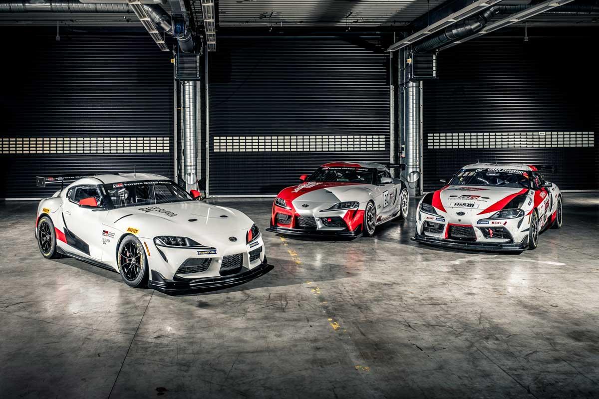 Für die Rennstrecke gebaut: Der Toyota GR Supra GT4 Concept.